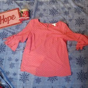 Pink Lauren Conrad heart shirt